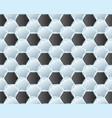 pattern soccer ball vector image