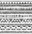 hand drawn tribal print Primitive vector image