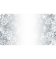blurred motion magic christmas snow 3d effect vector image vector image
