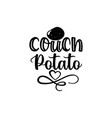 couch potato - couch potato svg rockin couch vector image vector image