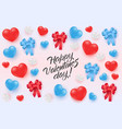 happy valentines day special offer design vector image vector image
