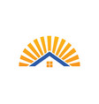 House shine icon logo