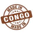 made in Congo vector image vector image