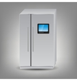 refrigerator icon vector image