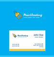 sale tag logo design with business card template