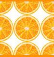 seamless pattern from orange slices citrus vector image vector image