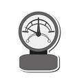 single manometer icon vector image