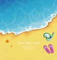 Tropic beach vector | Price: 3 Credits (USD $3)