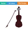 Violin icon vector image vector image