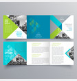 brochure design 701 vector image vector image