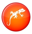 Chameleon icon flat style vector image vector image