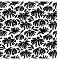 daisy flower seamless pattern vector image