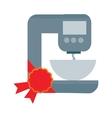 Dough Mixer in Flat Design vector image vector image