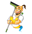 Genie cleaner male vector | Price: 5 Credits (USD $5)
