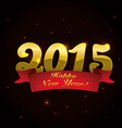 happy new year design vector image
