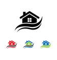 house logo design vector image vector image