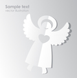 Paper angel template