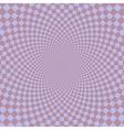 Retro vintage grunge hypnotic background vector image