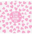 shine love vector image vector image