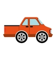 car vehicle isolated icon design vector image vector image