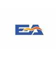 EA Logo vector image vector image