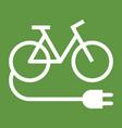 electric bike vector image vector image