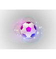 football abstract ball vector image vector image
