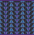 geometric purple blue pink and green vector image vector image