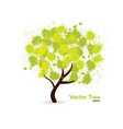 splotch tree vector image vector image