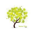 splotch tree vector image