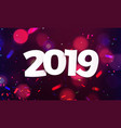 stock defocused happy new year vector image