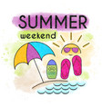summer 56 vector image vector image