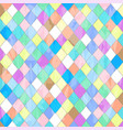 tile colorful pastel texture background vector image