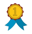 winner medal icon vector image