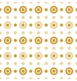 Beige and gold circles vector image vector image