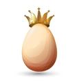 Best chicken egg design vector image