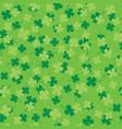 four leaf clover seamless 01 vector image