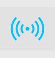 free wi fi icon connection zone wifi symbol radio vector image vector image
