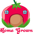 Home Grown vector image vector image