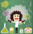 Mad scientist birthday party vector | Price: 1 Credit (USD $1)