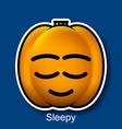 Sleepy vector image vector image