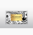 business card luxury business card design vector image vector image