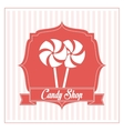Candy design sweet icon dessert concept vector image