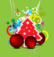 christmas celebration background design vector image vector image