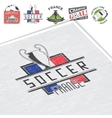 Football Championship Soccer time Detailed vector image