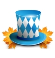Oktoberfest German beer festival celebration vector image