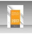 techno lines elements for brochure design vector image vector image