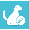 veterinary clinic concept laboratory vector image vector image