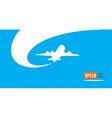 airplane flight tickets air fly cloud sky blue