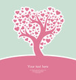 heart tree pic vector image